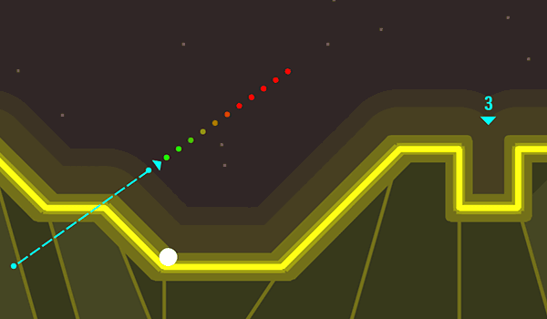 Arcade Golf Neon - Play it now at CoolmathGames com