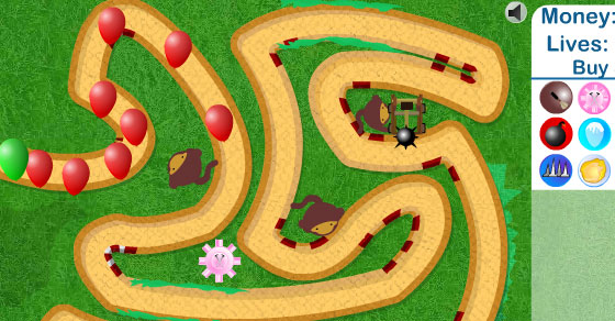 Bloons Tower Defense 3 - Play it now at CoolmathGames com