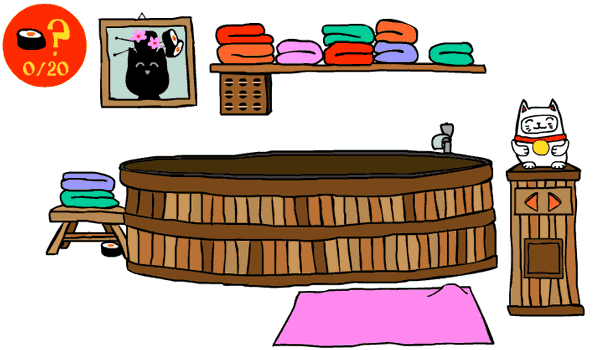 Cat in Japan - Play it now at Coolmath-Games.com
