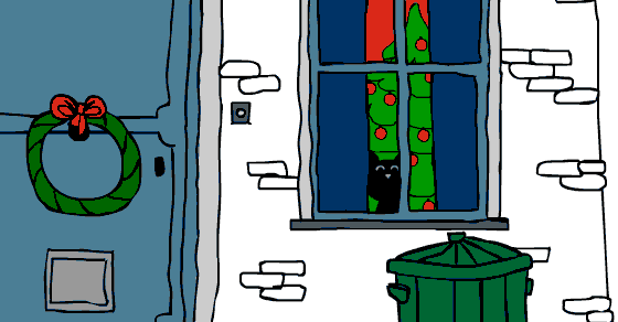 Christmas Cat - Play it now at Coolmath-Games.com