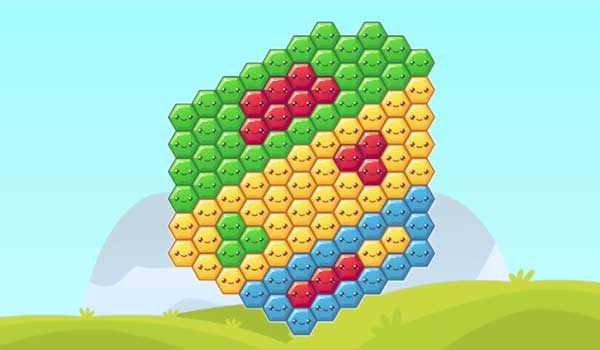 Hexaflow - Play it now at CoolmathGames com
