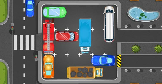 Marvelous Parking Panic Play It Now At Coolmath Games Com Easy Diy Christmas Decorations Tissureus