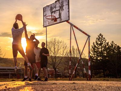 Backyard Basketball Outdoors