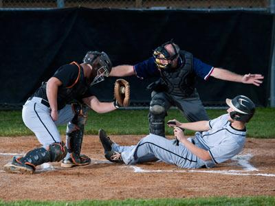 Baseball Slide Home Plate