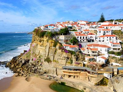 Coastal Village in Portugal