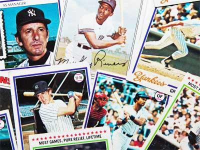 Baseball Cards Jigsaw Puzzle