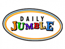 photograph about Printable Jumble Crossword Puzzles named Every day Jumble - Participate in it already at