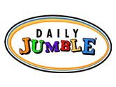 photograph regarding Printable Jumble Crossword Puzzles named Everyday Jumble - Enjoy it at this time at