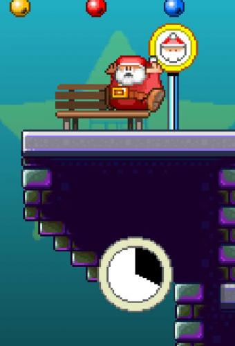 60 Second Santa Run Game Screenshot