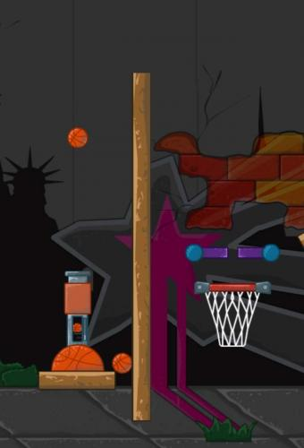 Cannon Basketball Game Screenshot