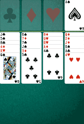 Daily FreeCell Game Screenshot