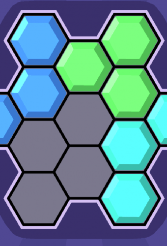 Hex Blocks Game Screenshot