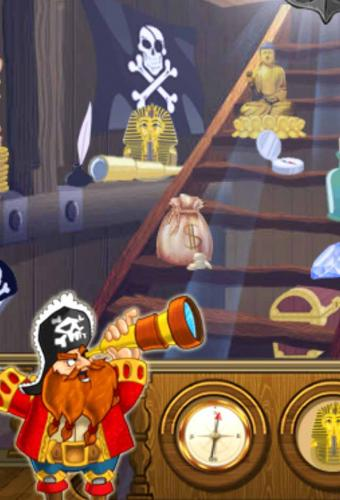Hidden Objects Pirate Adventures Game Screenshot