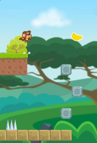Jumpy Ape Joe Game Screenshot