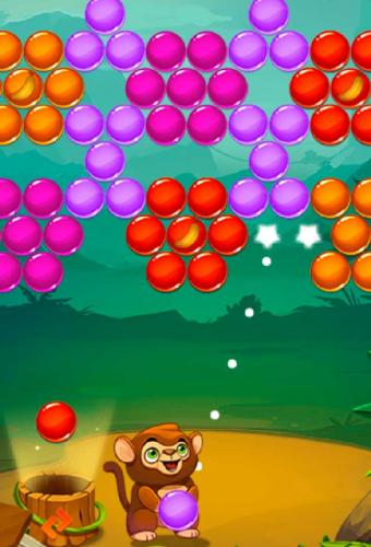 Monkey Bubble Shooter Game Screenshot
