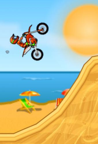 Moto X3m Game Screenshot
