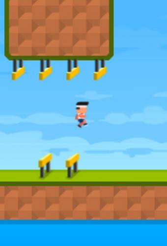 Olympic Jump Game Screenshot