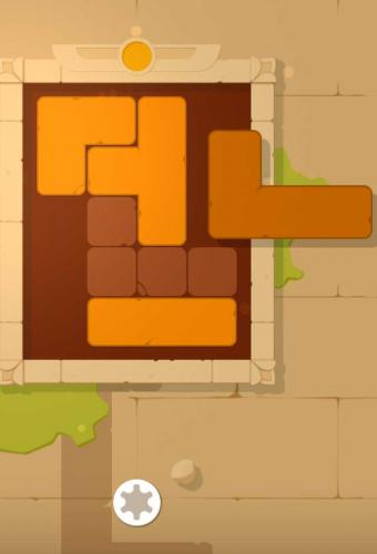 Puzzle Blocks Ancient Game Screenshot