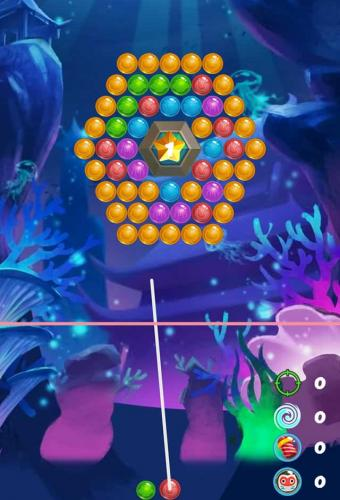 Sea Bubble Game Screenshot