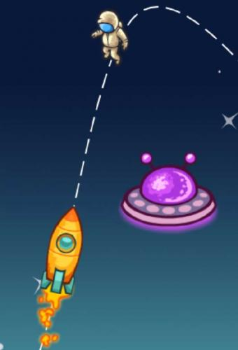 Space Rescue Game Screenshot