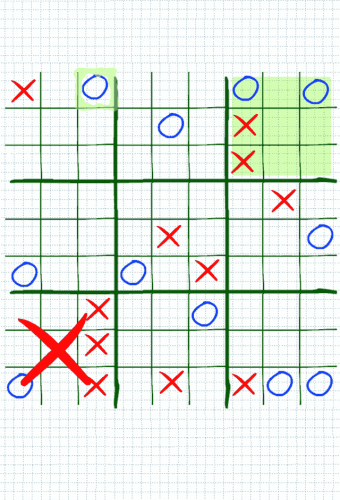 Strategic Tic Tac Toe Screenshot