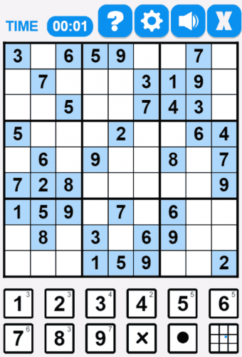 Sudoku Game Screenshot