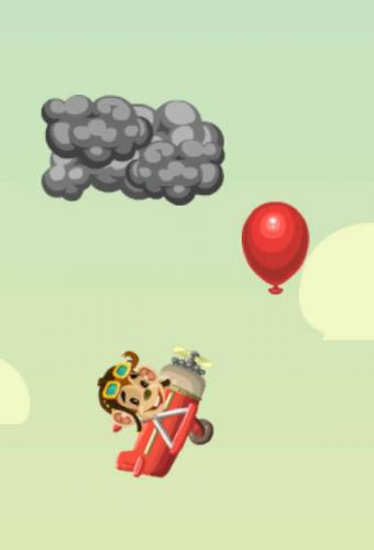 Tommy the Monkey Pilot Game Screenshot
