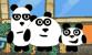 3 Pandas in Brazil Game