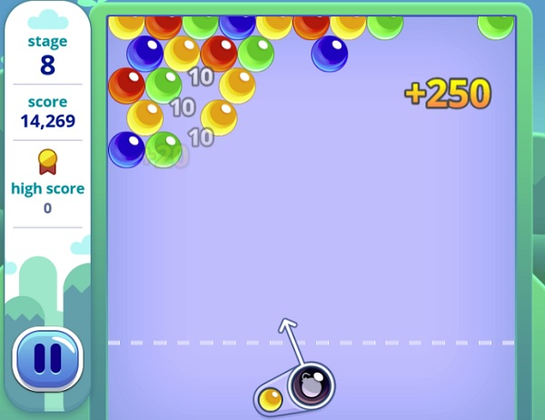 Tingly Bubble Shooter Play It Now At Coolmath Games Com