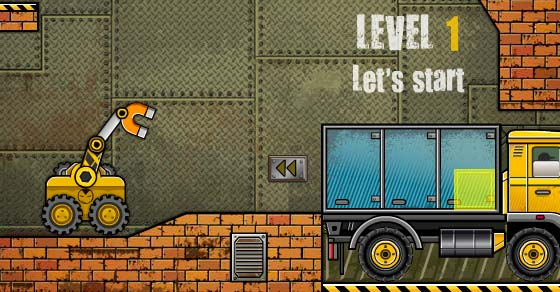 Truck Loader 4 - Play it now at CoolmathGames com