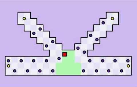 World's Hardest Game level 26
