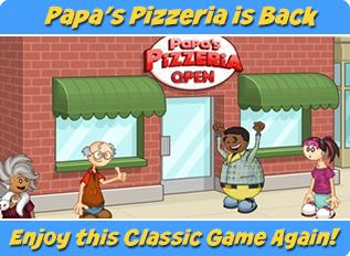 Papa's Pizzeria Game