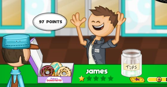 Papa's Donuteria - Play it now at CoolmathGames.com