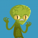 Green Alien Avatar