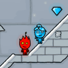 Fireboy and Water Girl 3 in The Ice Temple