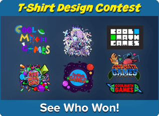 Enter the Coolmath Games T-shirt Design Contest